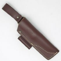 TBS Leather Nordic Dangler Type Sheath with Firesteel Loop - SMALL